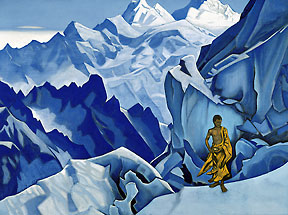 Unspilled Chalice by Nicholas Roerich